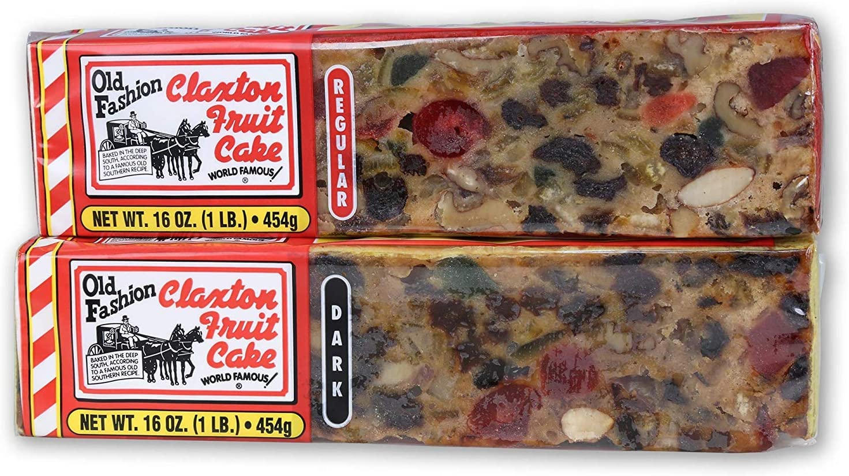 Claxton Fruitcake Tarta de frutas de Claxton