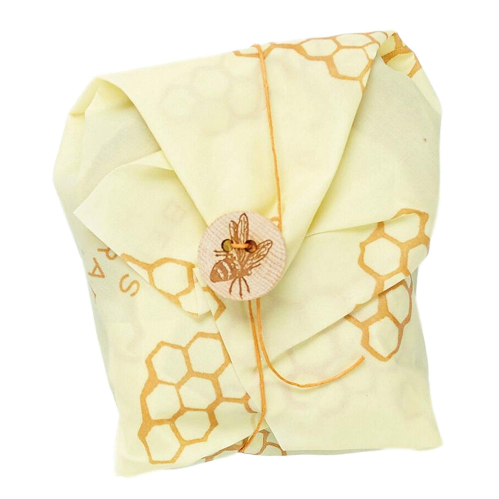 Bee's Wrap Sandwich Wrap, Eco Friendly Reusable Beeswax Food Wrap, Sustainable, Zero Waste, Plastic Free Alternative for Wrapping Sandwiches (Honeycomb Print) by Bee's Wrap