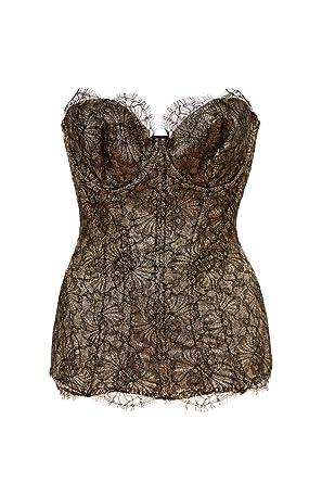 4389c4787e9 Image Unavailable. Image not available for. Color  Agent Provocateur  Women s Shina Corset ...