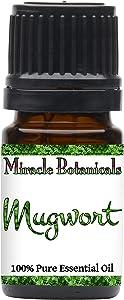 Miracle Botanicals Mugwort Essential Oil - 100% Pure Artemisia Vulgaris - Therapeutic Grade - 5ml