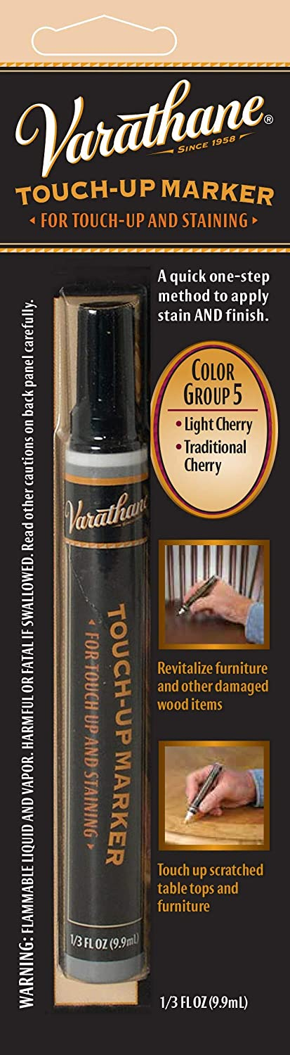Varathane 215356 Wood Stain Touch-Up Marker For Light Cherry, Traditional Cherry