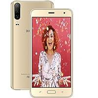 Moviles Libres 4G, Smartphone Libre 5,5 Pulgadas 2020 Android 9,0 Quad Core 1 GB RAM y 16 GB ROM (Escalable 128 GB) Moviles 4800mAh Cámara 8MP + 5MP Dual SIM WiFi BT GPS (Oro)