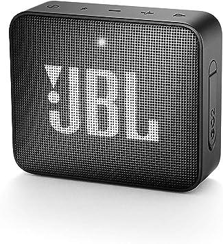 Oferta amazon: JBL GO 2 - Altavoz inalámbrico portátil con Bluetooth, resistente al agua (IPX7), hasta 5h de reproducción con sonido de alta fidelidad, negro