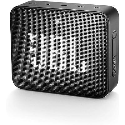 JBL GO 2 - Altavoz inalámbrico portátil con Bluetooth, resistente al agua (IPX7), hasta 5h de reproducción con sonido de alta fidelidad, negro