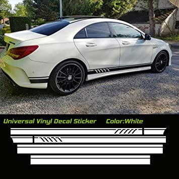 Universal Car Side Lower Door Stripe Line Decal Sticker for All Vehicle
