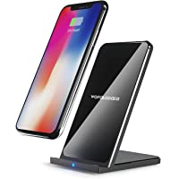 Wofalodata Fast Wireless Charger Stand (Black)
