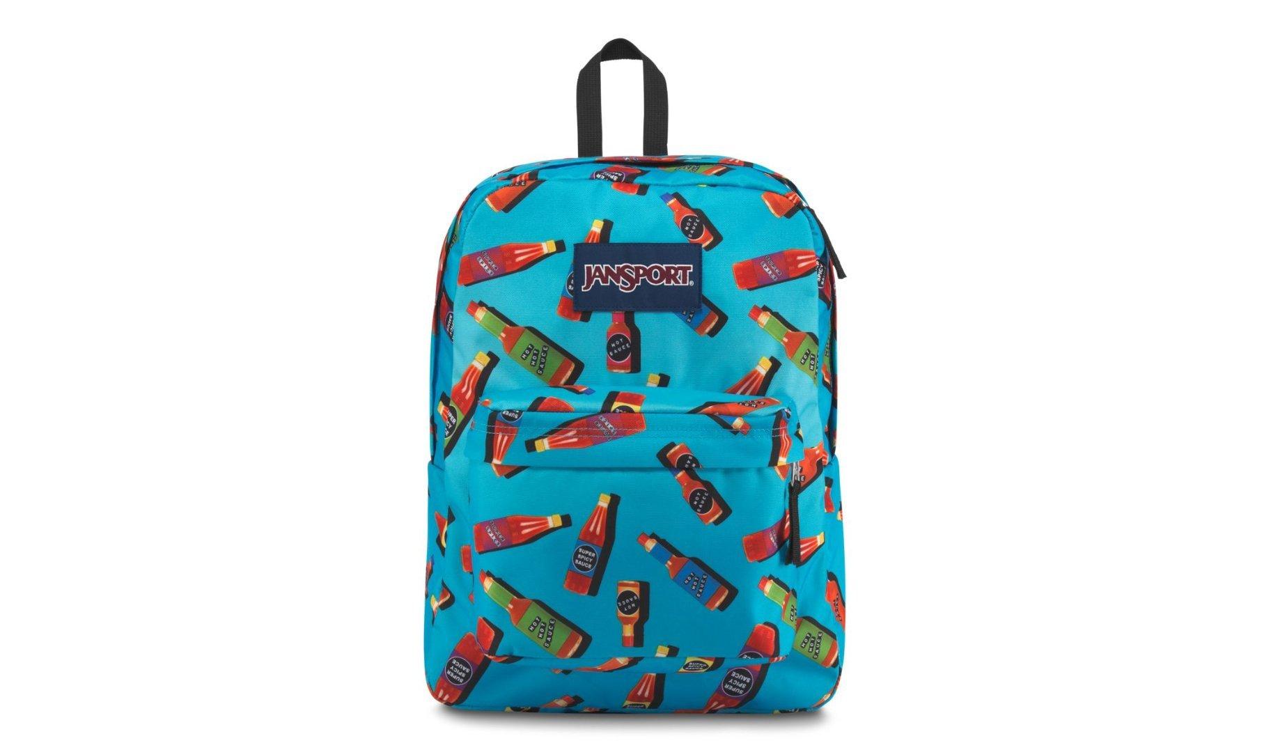 JanSport Superbreak Backpack Hot Sauce