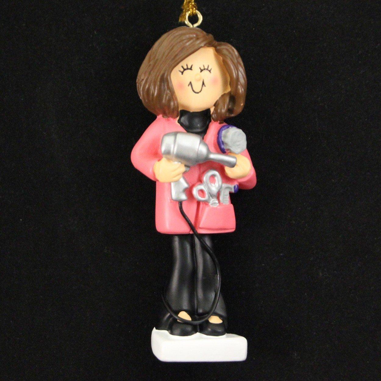 Hair stylist christmas ornaments - Amazon Com Ornament Central Oc 014 Fbr Hairdresser Ornament Home Kitchen