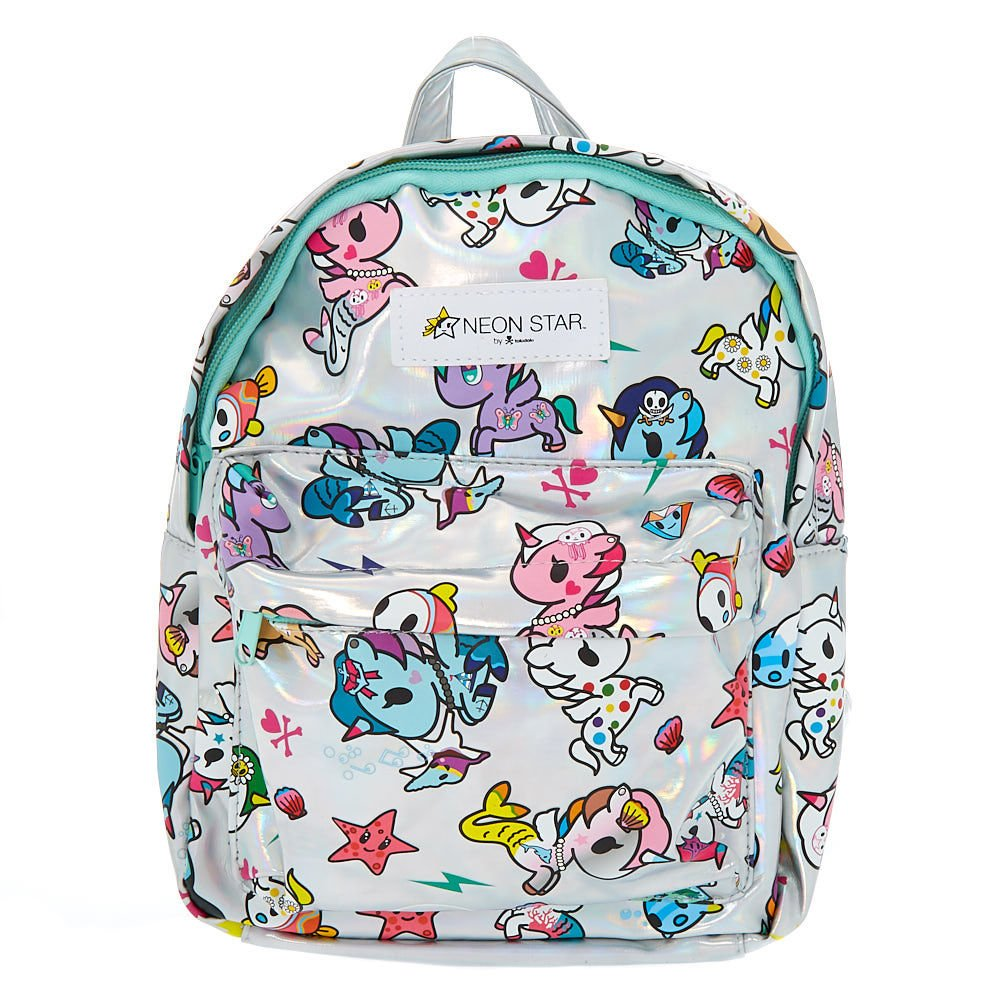 Neon Star by tokidoki Claire's Girl's Holographic Mini Backpack