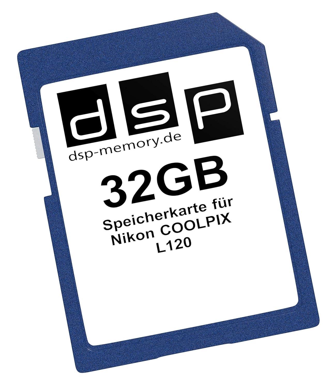 DSP Memory Z de 4051557367524 16 GB Tarjeta de Memoria para Nikon ...