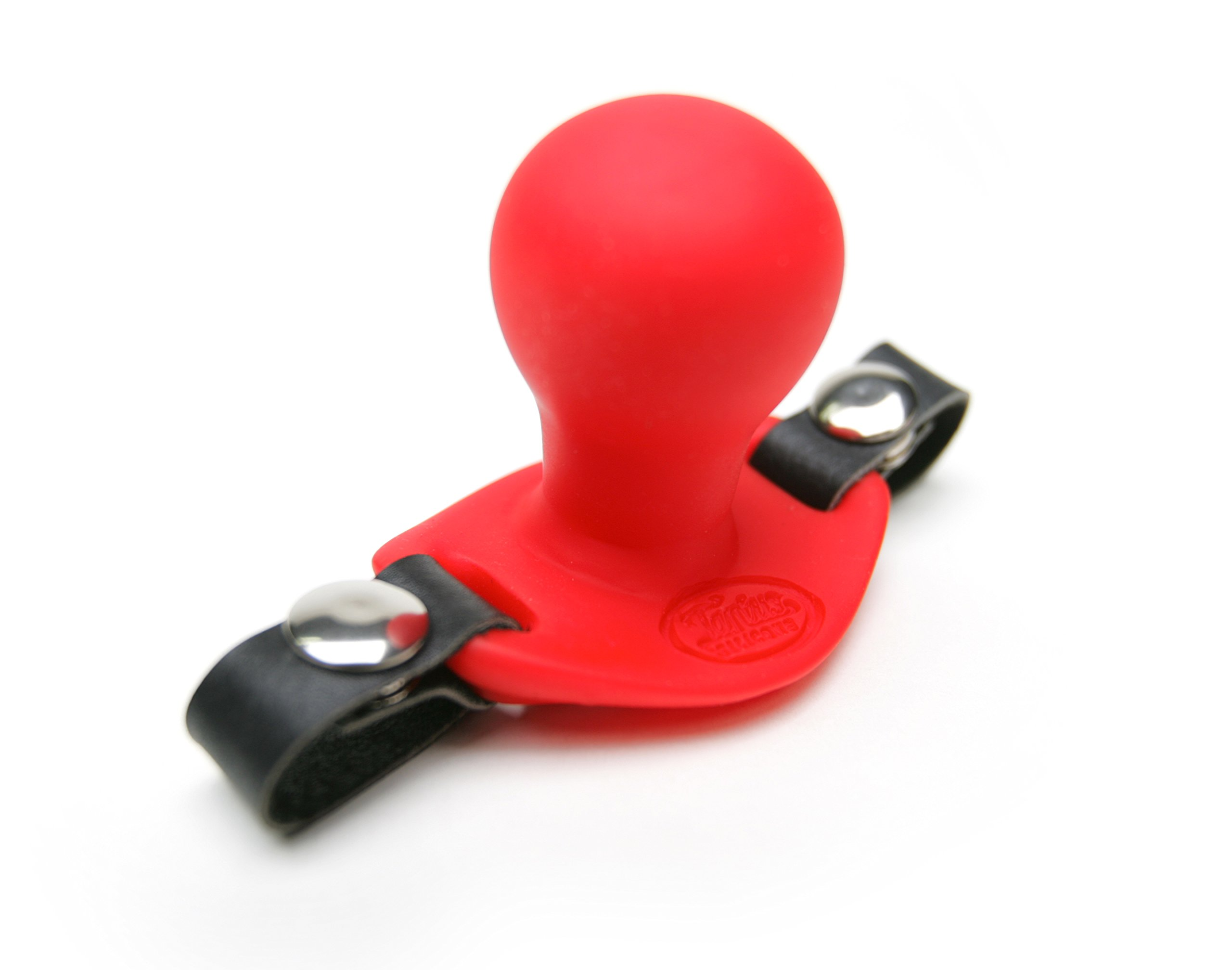 Tantus Beginner Ballgag - Ultra-Premium Silicone Gag - Red by Tantus