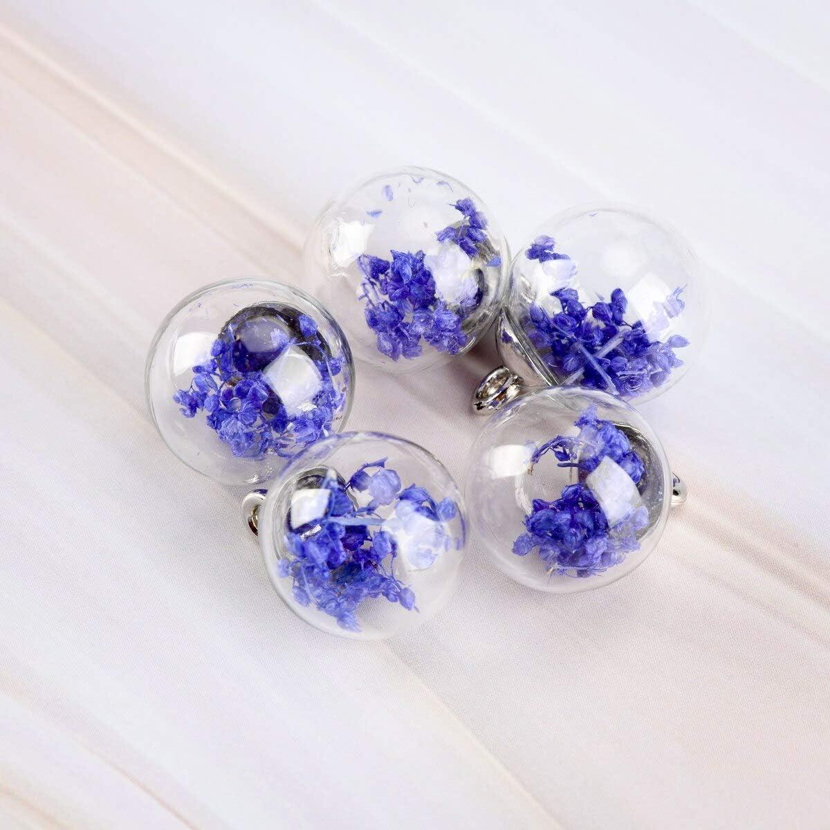 Bag of natural and glass gemstones