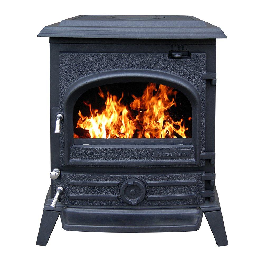amazon com hiflame cast iron wood burning stove hf517u paint