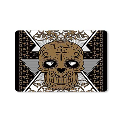 Amazon.com: MOOCOM Tattoo Decor Utility Doormat,Wise Old and ...
