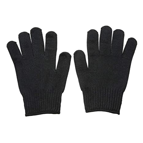 Family Mall - Guantes de protección (malla de acero inoxidable, anticortes)