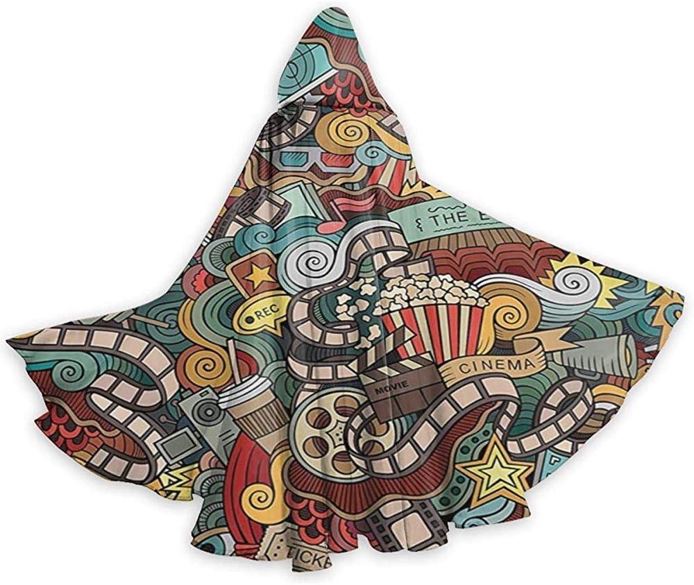Disfraz de Longitud Completa de la película de Palomitas de maíz con Capucha Disfraces del Cabo: Amazon.es: Hogar