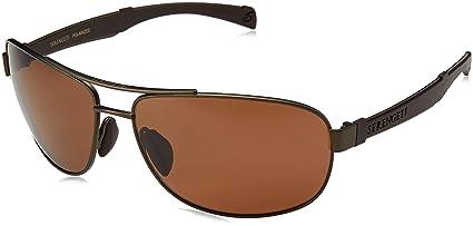 Serengeti Eyewear Sonnenbrille Norcia, Satin Expresso/Brown, L, 7970