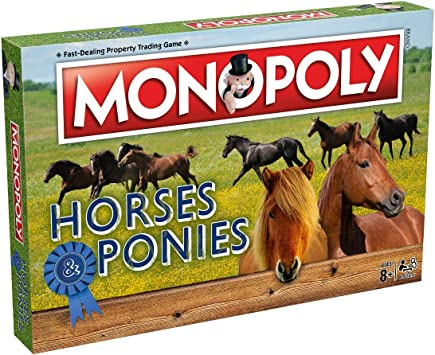 Winning Moves Caballos y Ponis Monopoly Juego de Mesa: Amazon.es ...