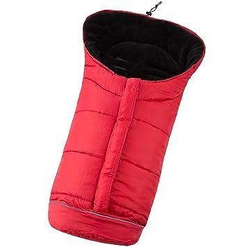 TecTake Saco de invierno dormir térmico para carrito silla de bebé universal abrigo polar - disponible