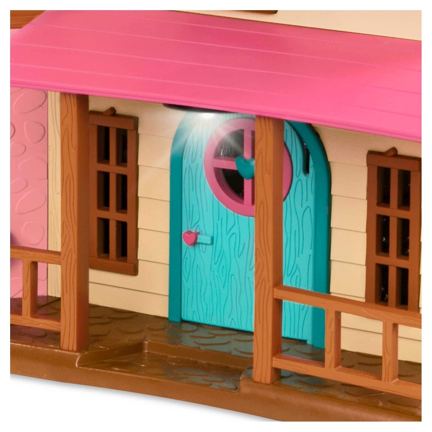 25 Pieces Branford Limited Honeysuckle Hillside Cottage Lil Woodzeez Animal Figurine Playset and Accessories