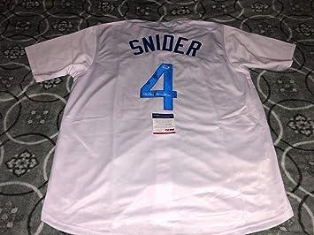 Duke Snider Los Angeles Dodgers Autographed Signed Baseball Jersey ... e483252a810
