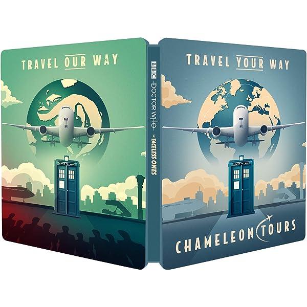Classic Doctor Who - The Faceless Ones Steelbook Edizione: Regno Unito Italia Blu-ray: Amazon.es: Cine y Series TV