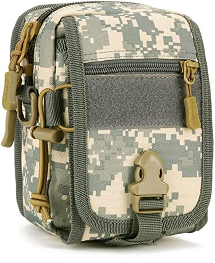 Military Waist Bag Waterproof Sling Men Nylon Chest Fanny Pack Tactical Pack Z