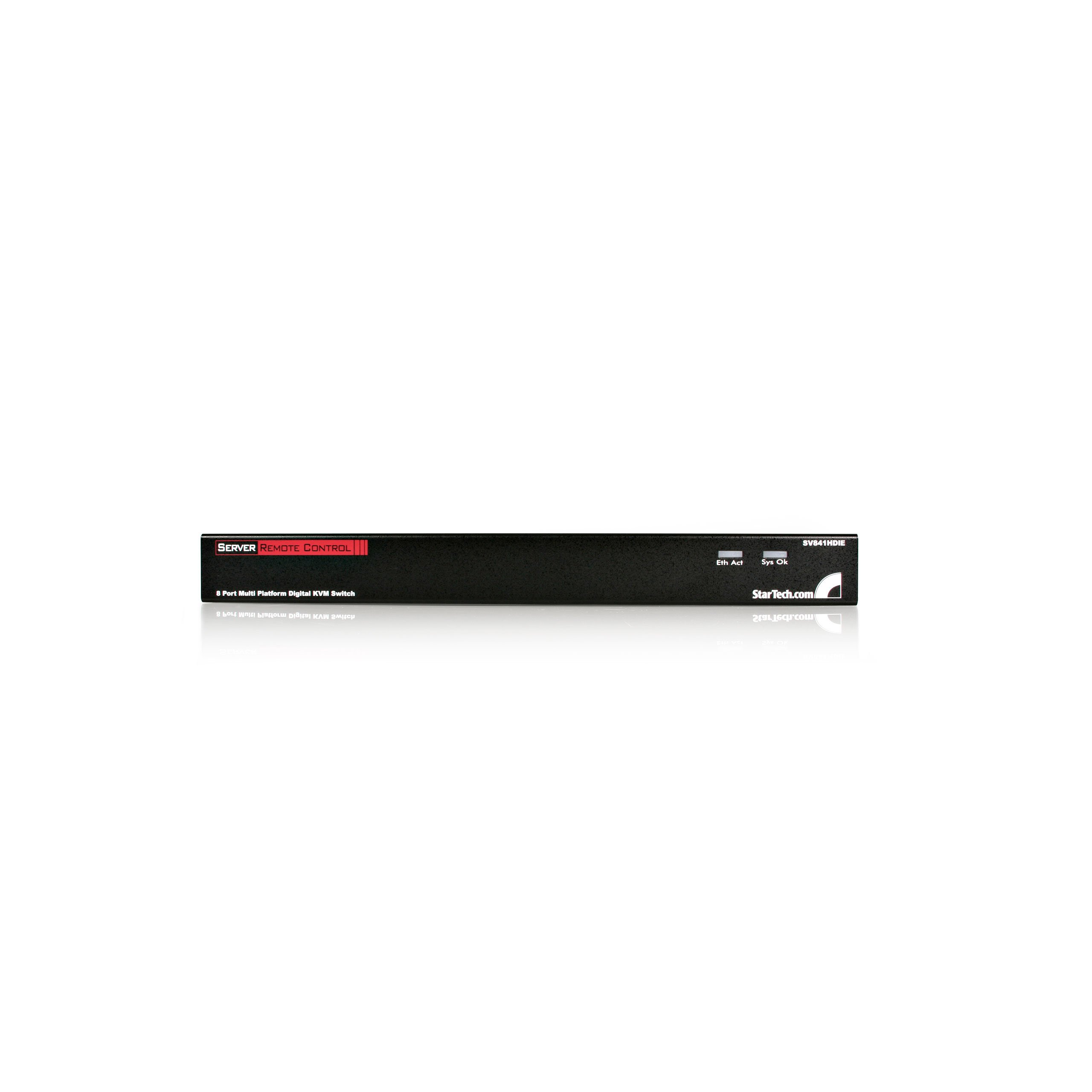 StarTech.com 8 Port Rack Mount USB PS/2 Digital IP KVM Switch (SV841HDIE) by StarTech (Image #1)