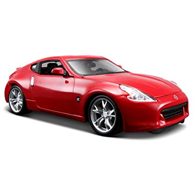 Maisto 531200 Model Car 1:24 Scale Nissan 370z '09 Assorted Colours: Toys & Games