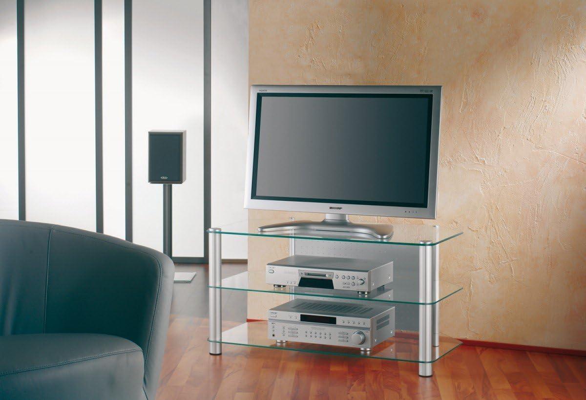 VCM Siena XXL - Mueble para TV y Dispositivos audiovisuales (con repisas de Cristal): Amazon.es: Hogar