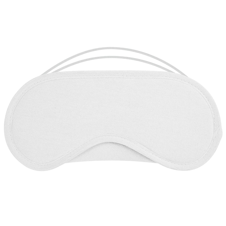 55e622d19f1d6 100% coton Masque pour les yeux Masque de sommeil pour voyage de couchage  avec ...