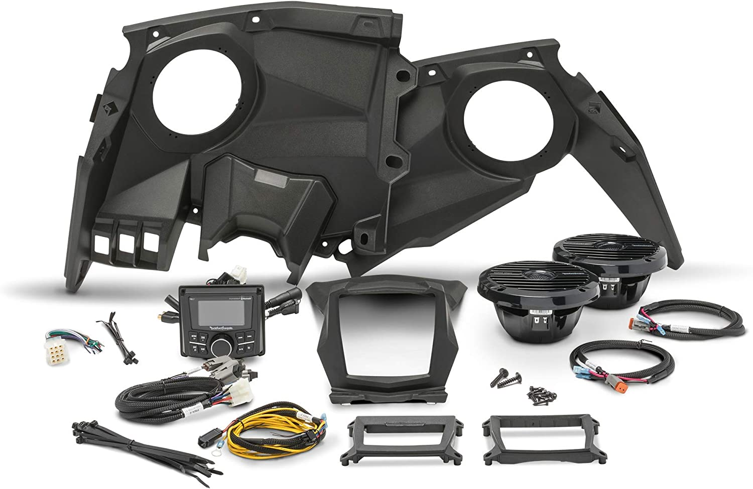 Rockford Fosgate X317-STAGE2 Stereo and Front Speaker Kit for Maverick X3 Models (2017-2019)