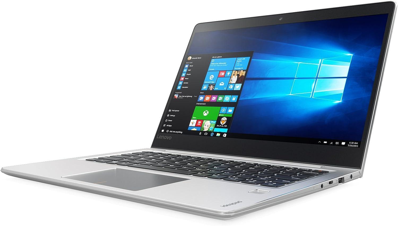 "Lenovo Ideapad 710S, 13.3"" FHD IPS Laptop (Intel Core i5-7200U, 8GB, 256GB SSD, Windows 10 Home, Silver) 80W3004MUS"