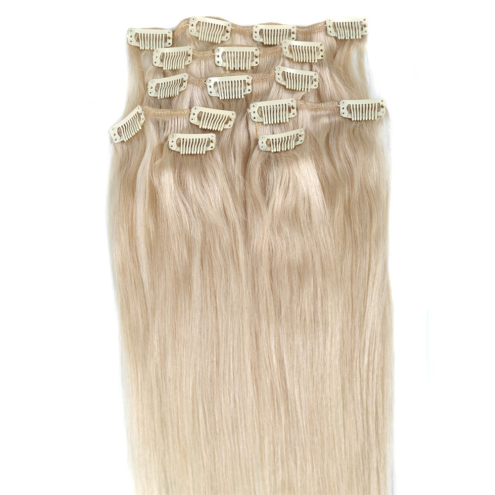 Amazon Blonde Hair Extensions Grammy 18 Inch 100 Long Real