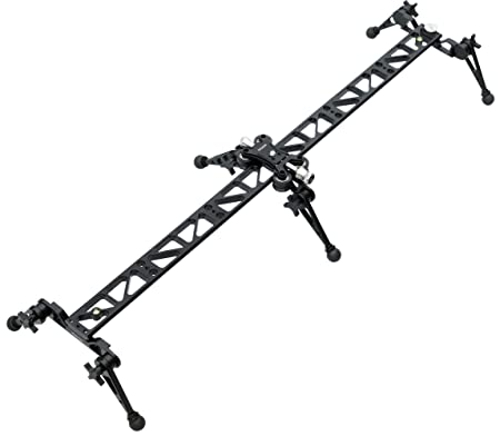 Proaim P-L3-SL Linear Ball Bearing Video Camera Slider for Tripod Mount DSLR DV Sony Nikon Canon Video Camera Stabilizers & Supports at amazon