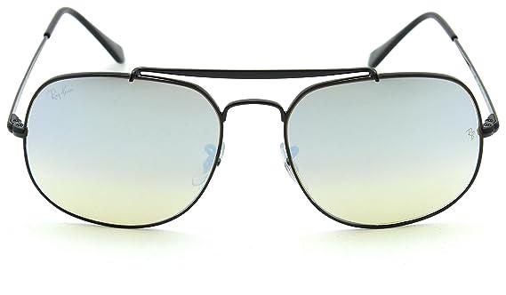 50a7fd8935 Amazon.com  Ray-Ban RB3561 Genaral Unisex Gradient Flash Sunglasses Black  002 9U  Clothing