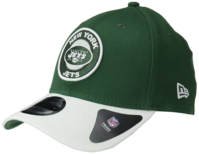 Amazon.com   NFL New York Jets Ring It Up Classic 39Thirty Flex Fit ... a16f44d4c
