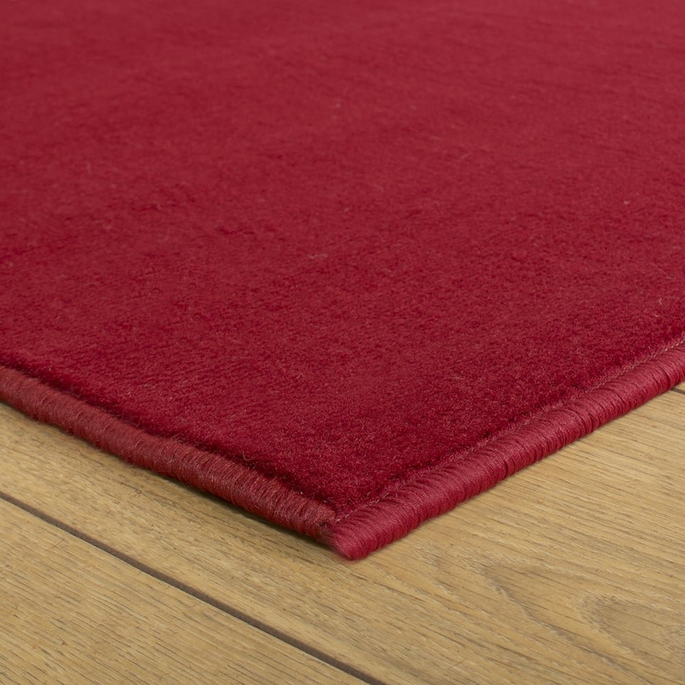 Carpet Runners UK UK UK , rot Uni – Hall, Treppe Teppich Läufer (erhältlich in Jede Länge bis 30 m) B01K27Z9KQ Lufer 20272c