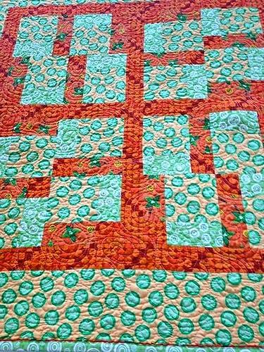 9fe2918f38507 Amazon.com: Handmade Baby Quilt, Modern Baby Blanket, Toddler Quilt ...