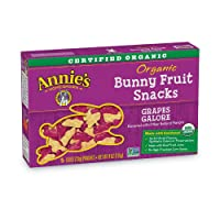 Deals on Annie's Grapes Galore Organic Fruit Snacks, 4 oz