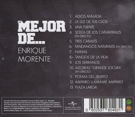 Lo Mejor De Enrique Morente: Enrique Morente: Amazon.es: Música