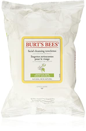 Facial Cleansing Towelettes - Peach & Willowbark Exfoliating by Burt's Bees #22