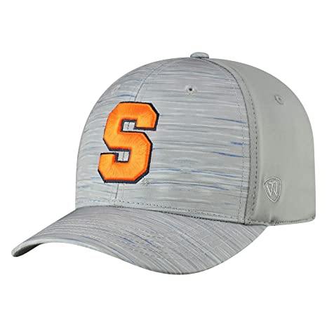 quality design af940 c1571 Image Unavailable. Image not available for. Color  Top of the World  Syracuse Orange Tow Gray Hyper Memory Fit Hat Cap