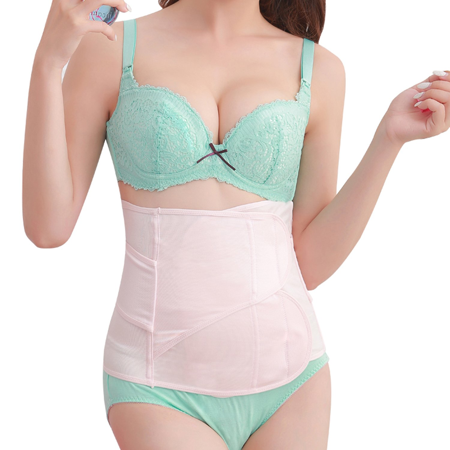 Picotee Postpartum Support Band Recovery Belly Wrap Waist Pelvis Belts C Section Girdle Postnatal Shapewear
