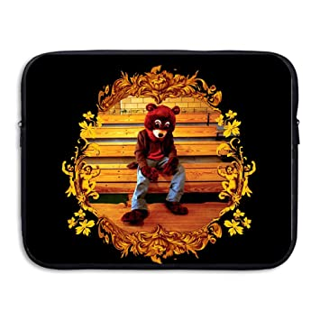 kathyb Kanye Omari West caso bolsa para ordenador portátil, color negro negro 15 pulgadas: Amazon.es: Electrónica