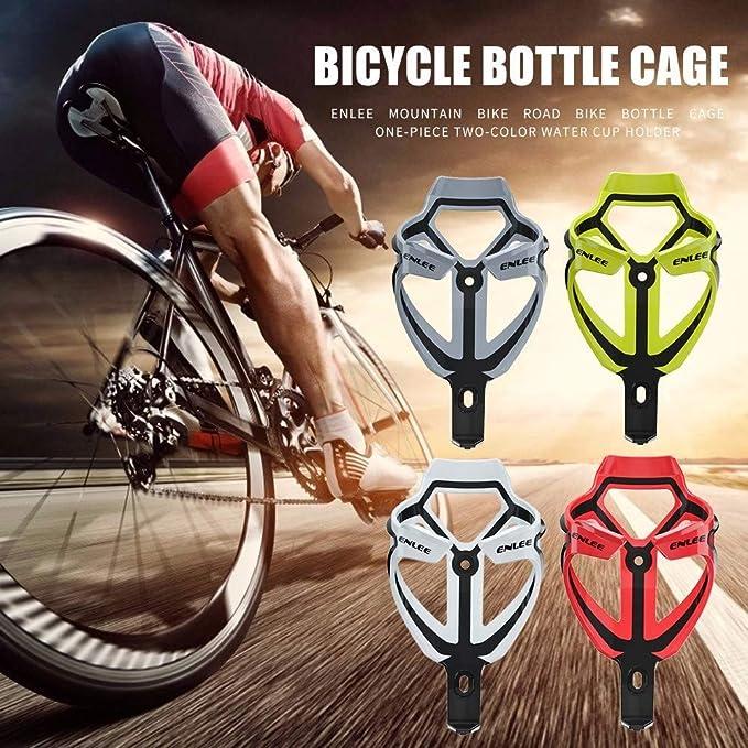 ENLEE Bike Water Bottle Holder Cycling MTB Bicycle Bottles Mount Cage Rack