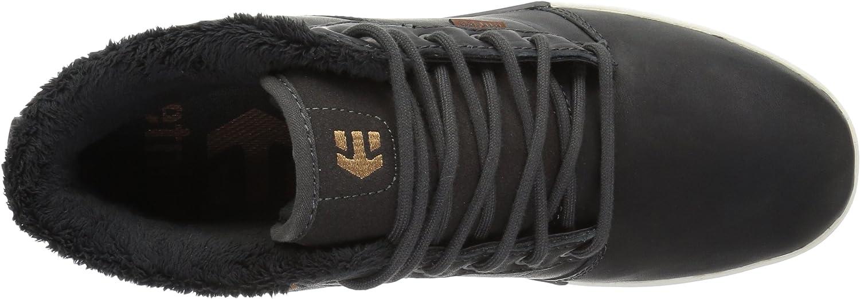 Etnies Jefferson Mid, Chaussures de Skateboard Homme Gris Dark Grey