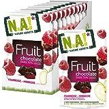 Nature Addicts Fruit und Chocolate Himbeere, 10er Pack (10 x 35 g)