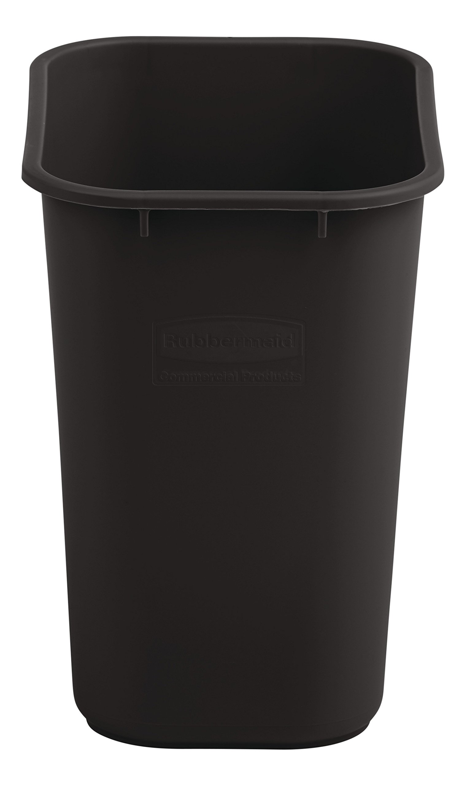 Rubbermaid Commercial Medium Wastebasket, 28 Quart - Brown, 2018376