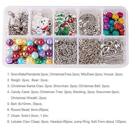 Santas Lost Button Christmas Santa Button  x 1PC Metallic Silver Button